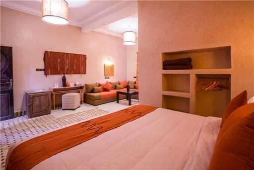 Riad Azawad Doppelzimmer