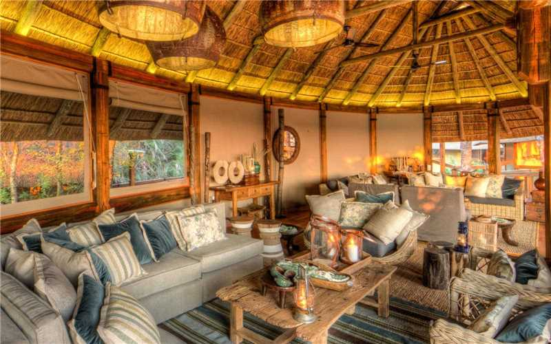 Camp Okavango Lounge