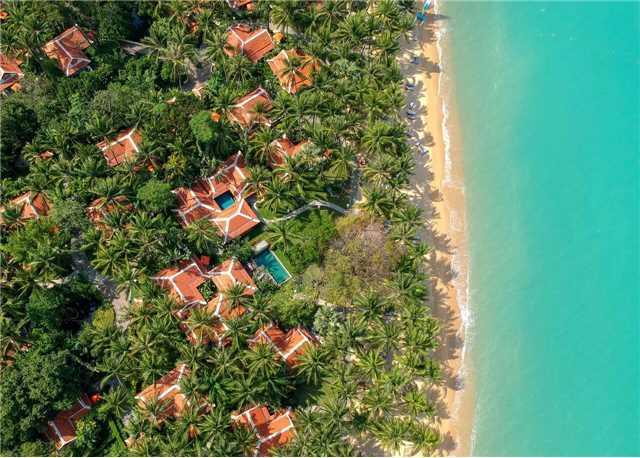 Santiburi Koh Samui Strand von oben