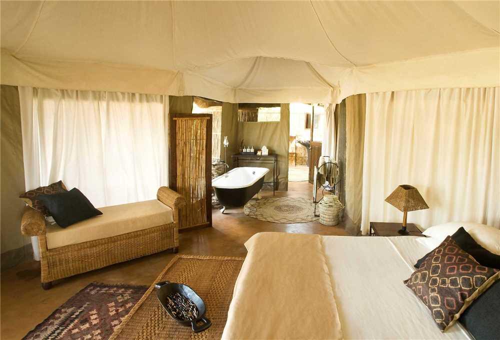 Mchenja Bush Camp Doppelzimmer