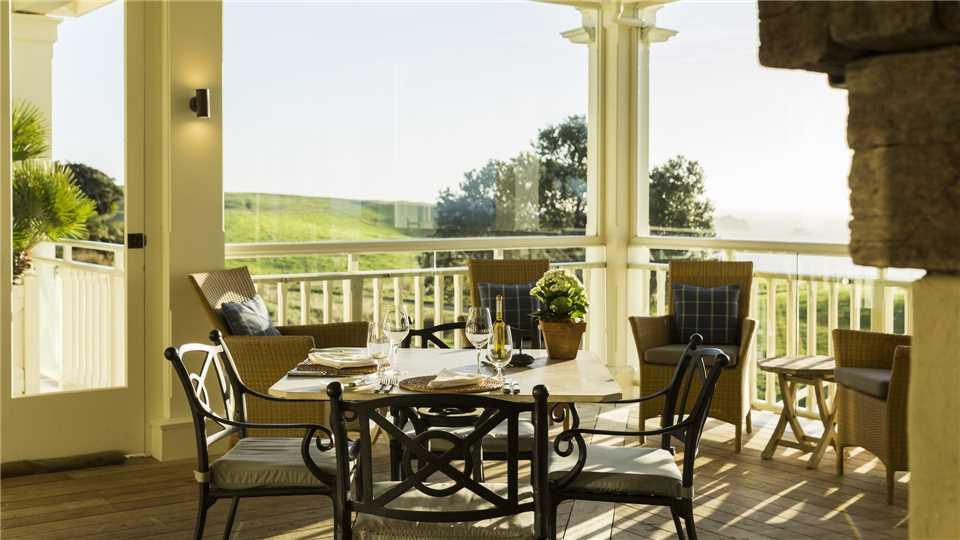 The Lodge at Kauri Cliffs Restaurant