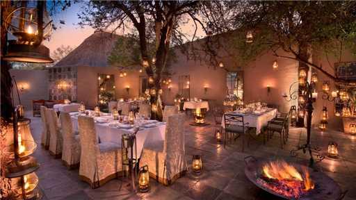 &Beyond Ngala Safari Lodge Restaurant