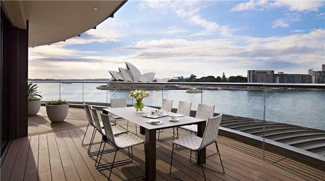 Park Hyatt Sydney Terrasse