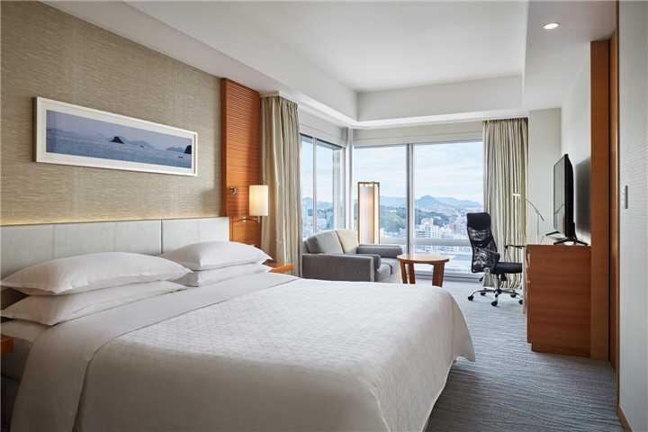 Sheraton Grand Hiroshima Hotel Doppelzimmer