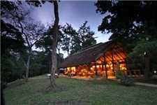 Ishasha Wilderness Camp Restaurant