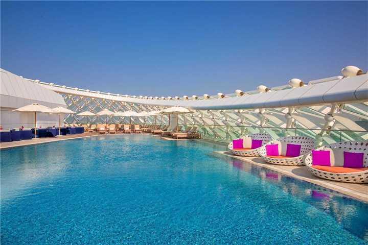 W Abu Dhabi Yas Island Pool