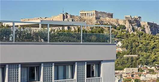 Aussenansicht Hotel Electra Metropolis Athen