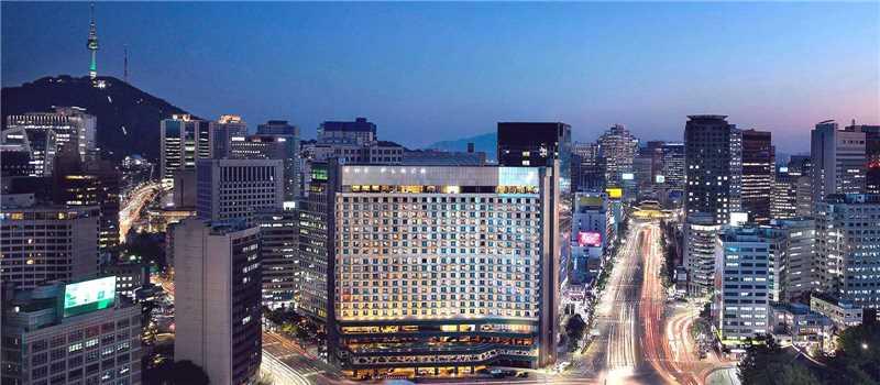 Plaza Seoul Außenansicht