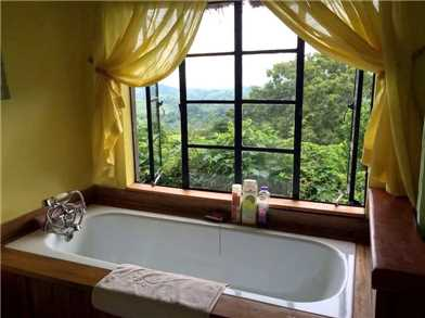 Ndali Lodge Badezimmer