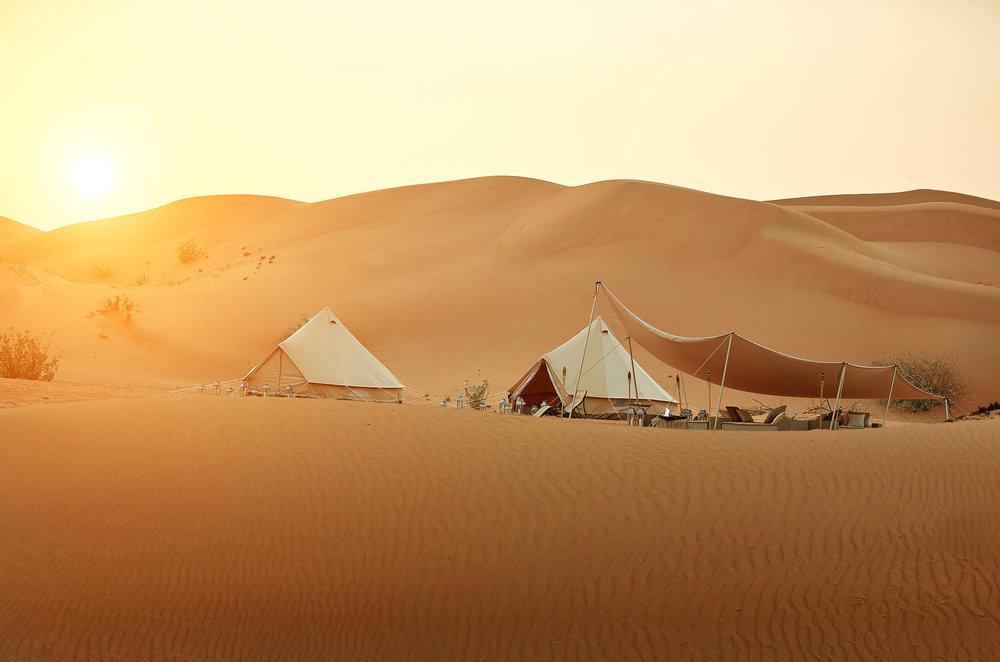 Magic Camp Wahiba Sands Außenansicht