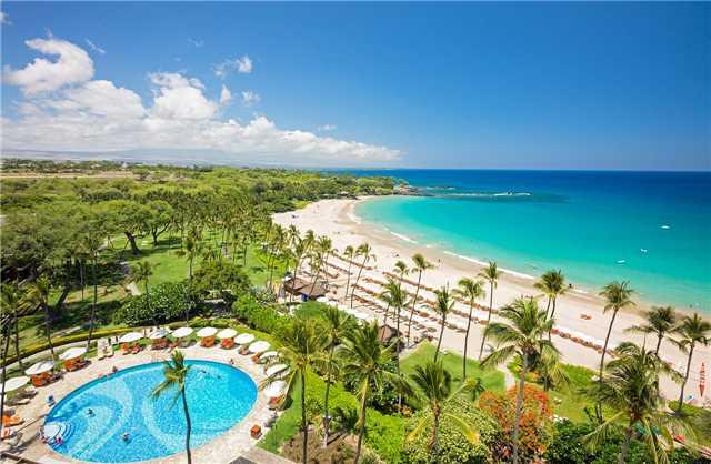 Mauna Kea Beach Hotel Pool und Strand