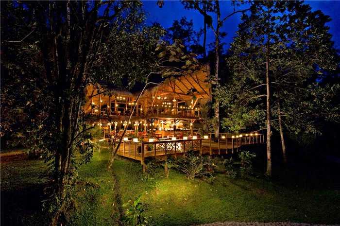 Pacuare Lodge Außenansicht