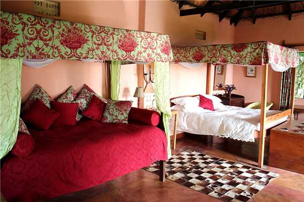 Ndali Lodge Doppelzimmer
