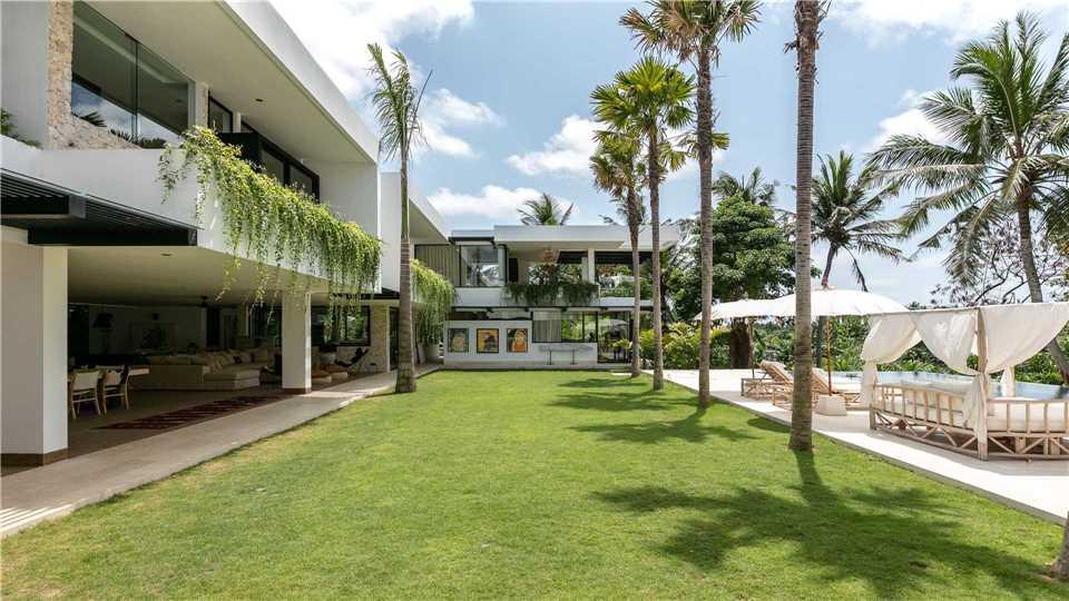 Villa Sapta Bayu Garten