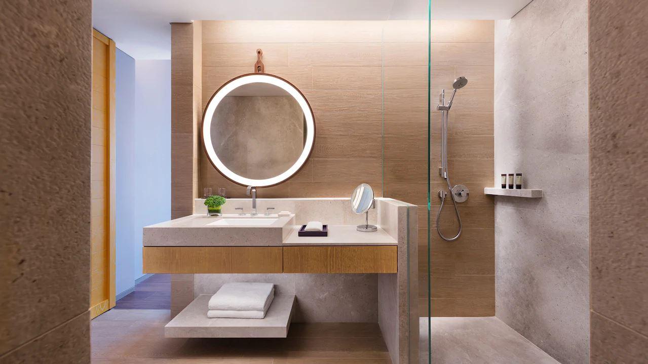 Andaz Singapore Badezimmer