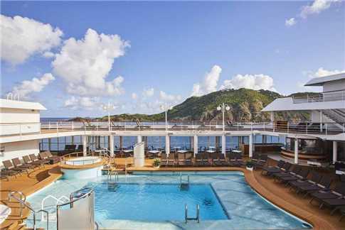 Silver Seas Cruises Silver Whisper Pool