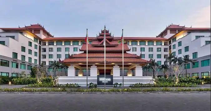 Hilton Mandalay Außenansicht