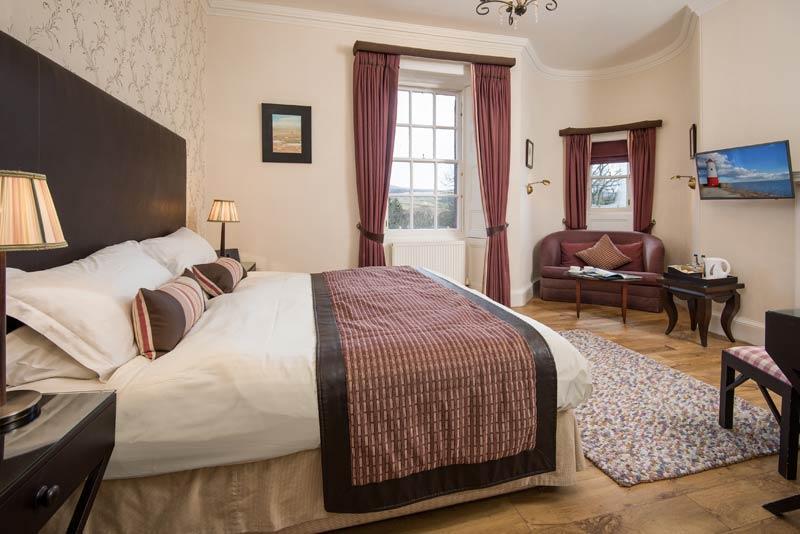 Cringletie House Hotel Luxury Room