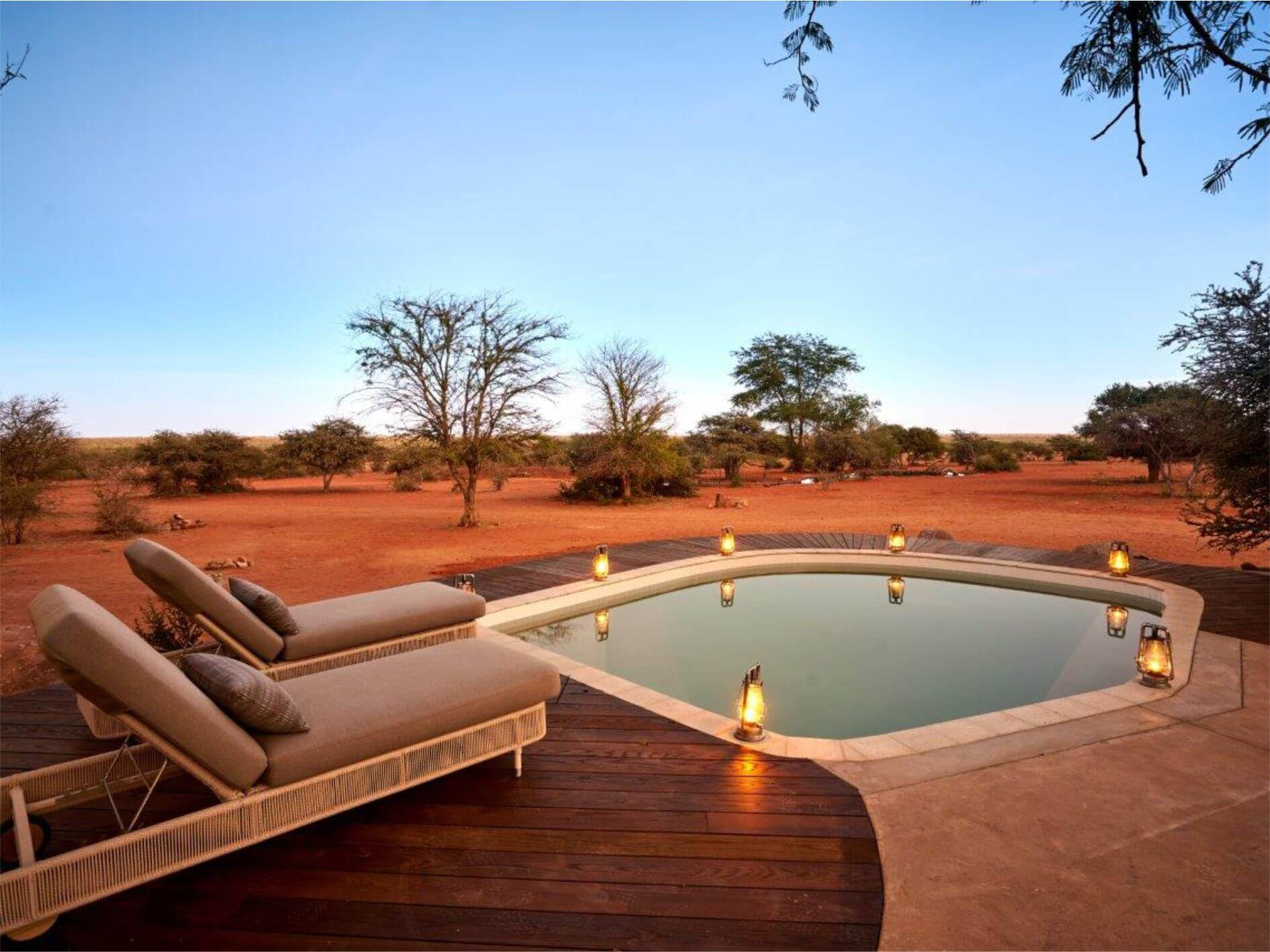 The Motse Lodge Privater Pool