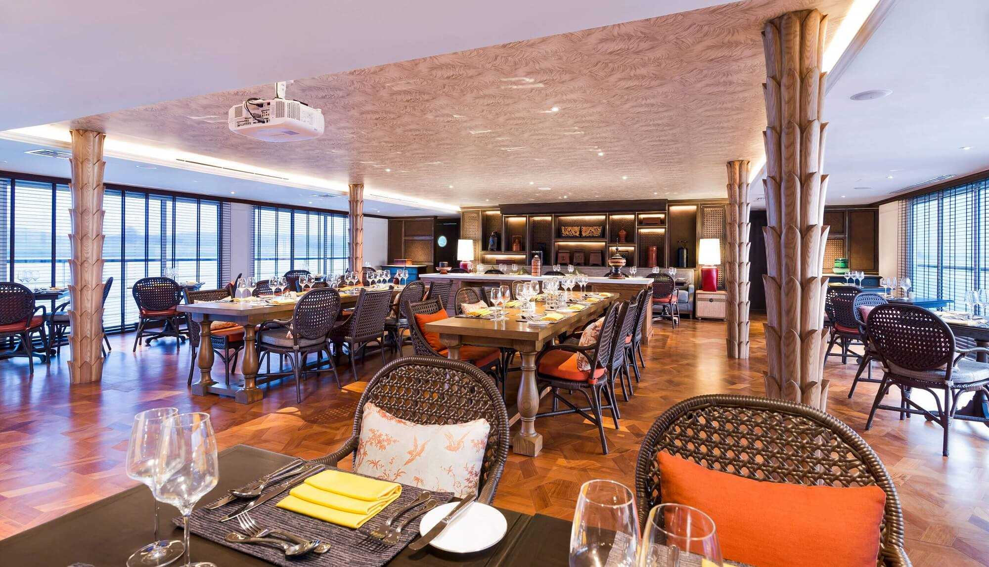 The Strand Cruises Restaurant