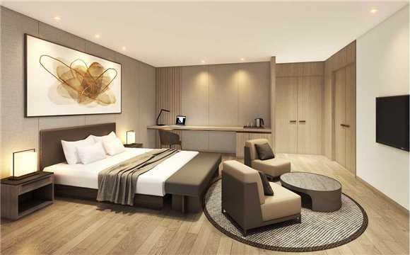 Lahan Hotel Jeonju Doppelzimmer