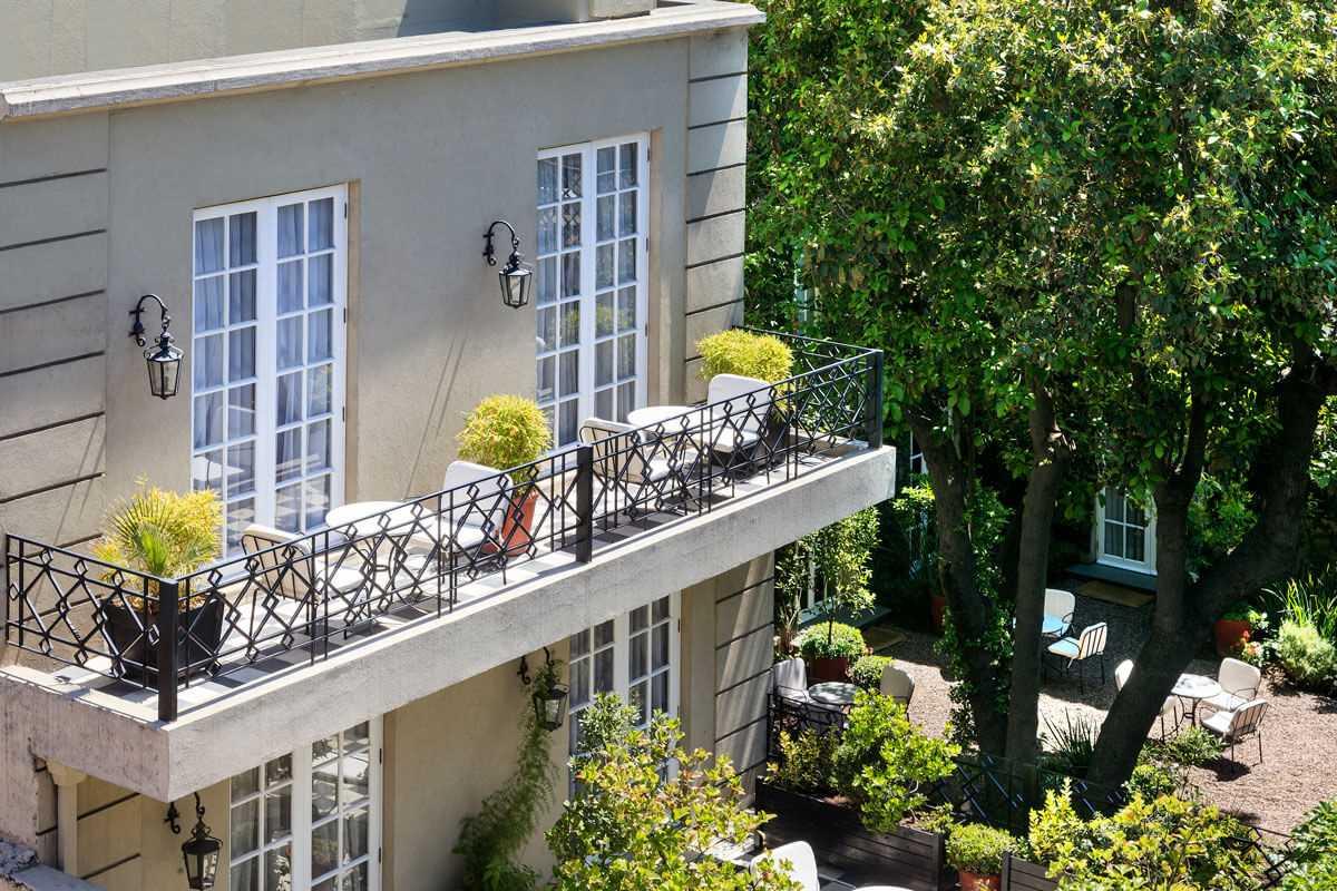 Le Rêve Boutique Hotel Doppelzimmer Balkon