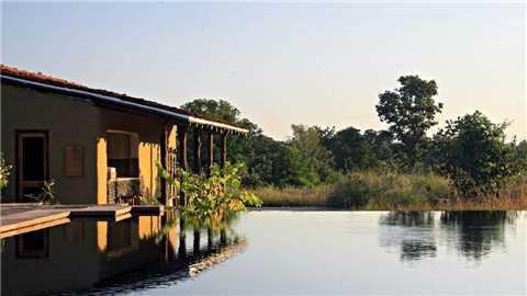 Samode Safari Lodge Außenansicht