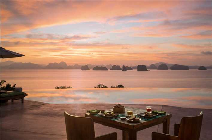 Six Senses Yoa Noi Dinner