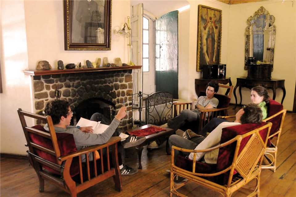 Hacienda Museo Cayara Lounge