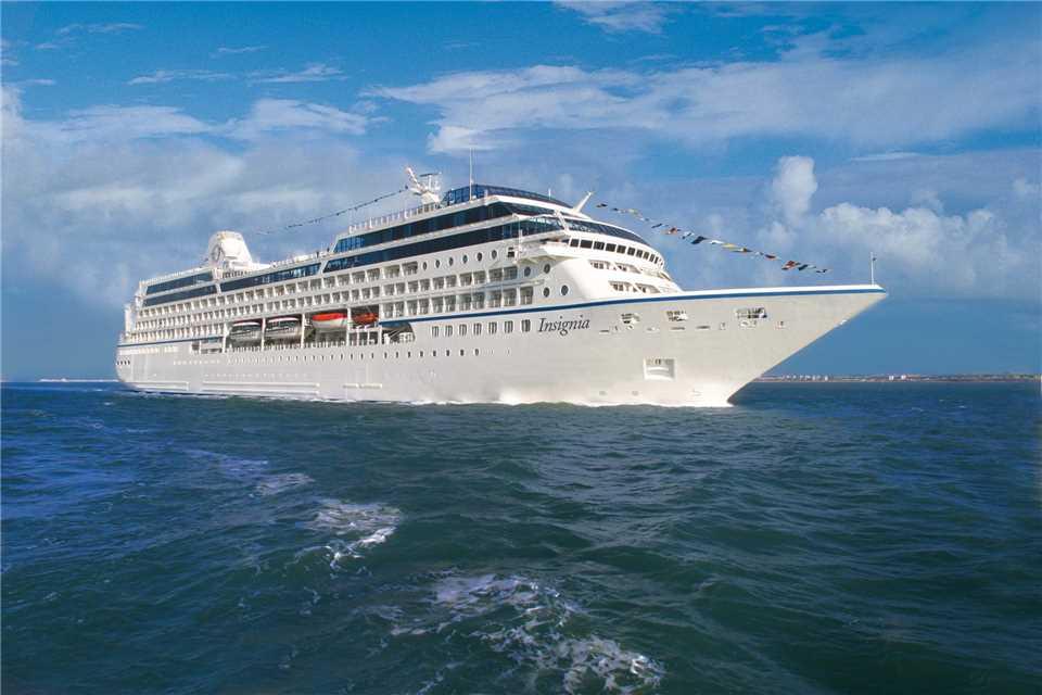 Oceania Cruises MS Insignia Außenansicht