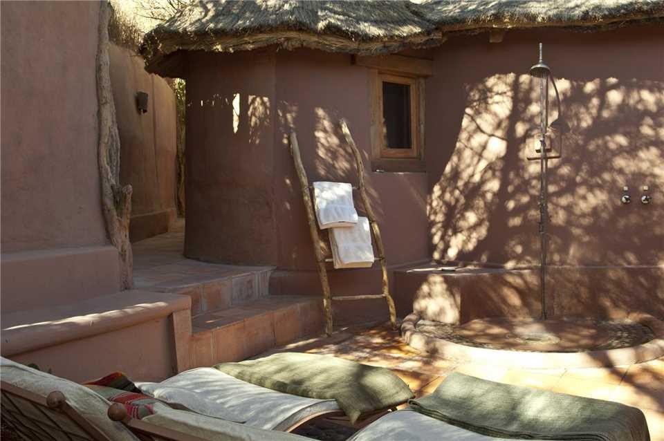 Awasi Atacama Outdoor Dusche im Spabereich