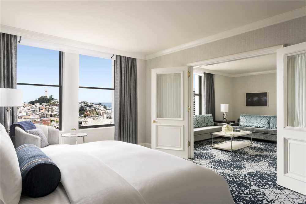 The Ritz Carlton San Francisco Zimmer