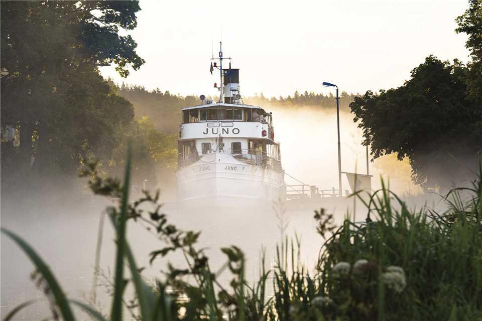 Göta Kanal MS Juno Außenansicht
