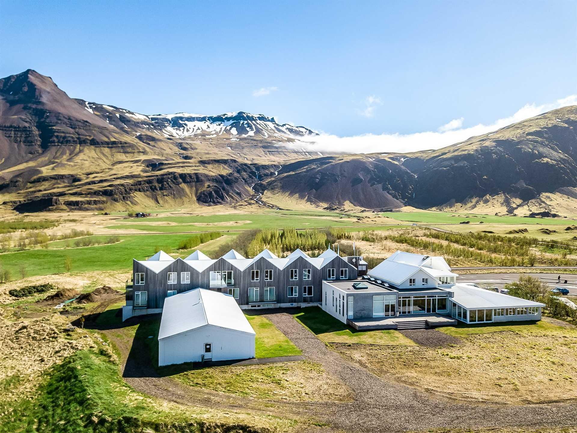 Fosshótel Vatnajökull Außenansicht