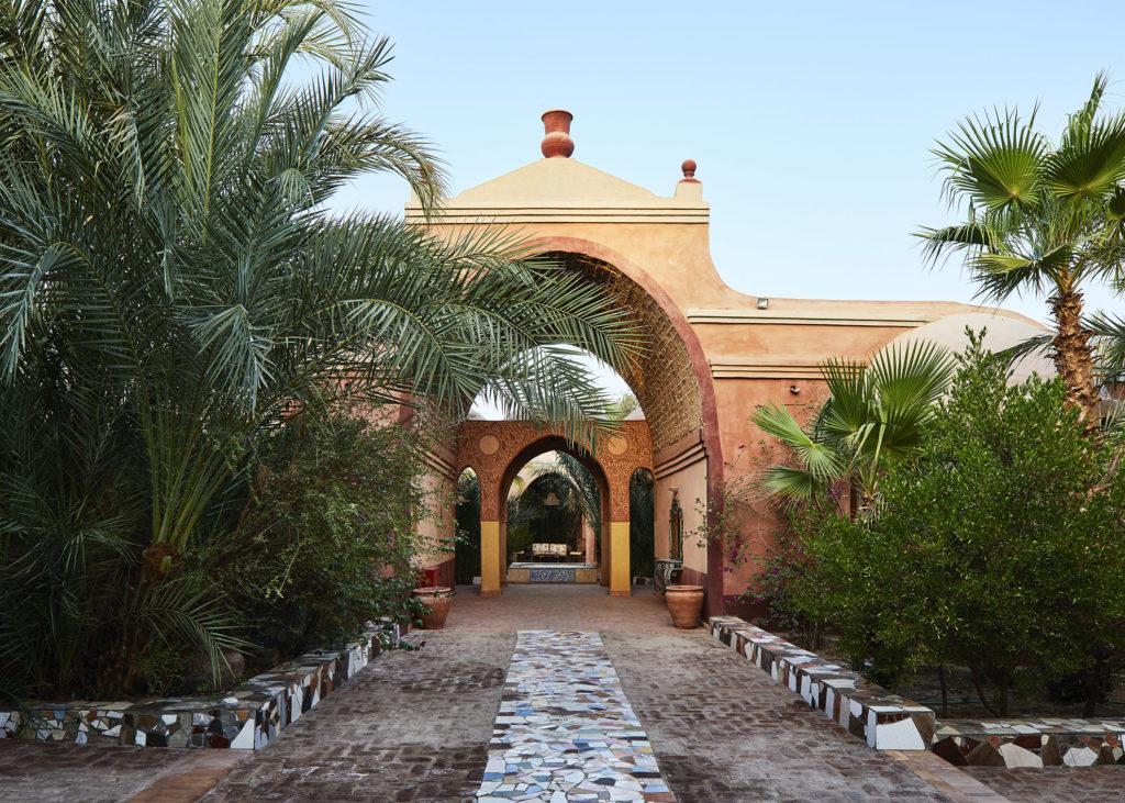 Al Moudira Hotel Weg