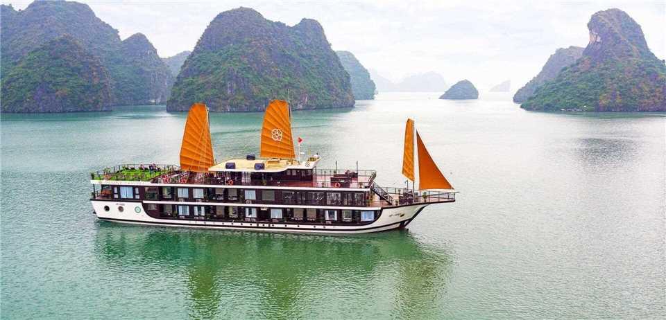 Peony Cruise Schiffansicht