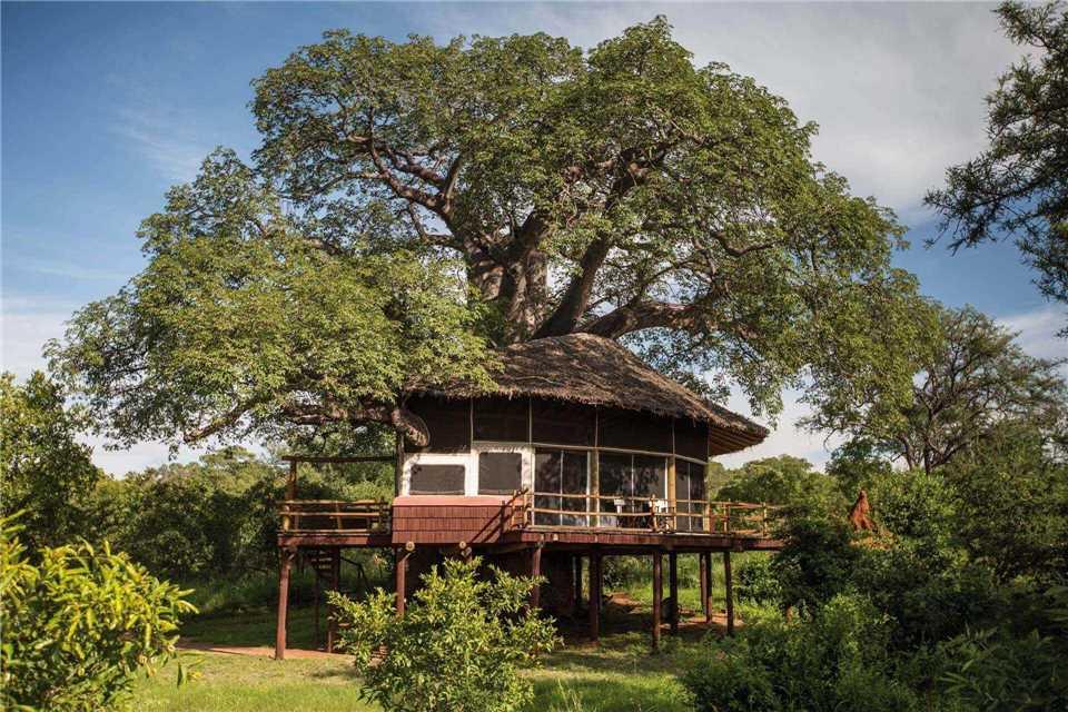 Tarangire Treetops Außenansicht
