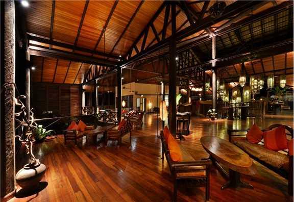 Borneo Rainforest Lodge Lobby