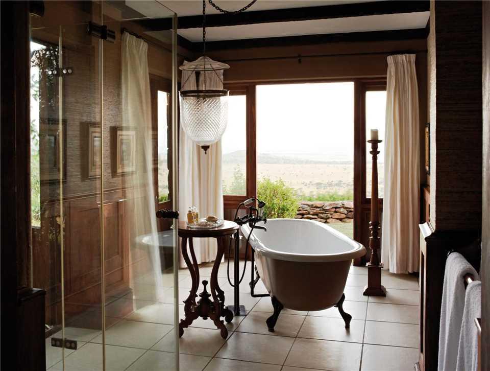 Singita Sasakwa Lodge Badezimmer