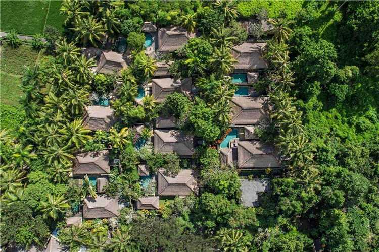 The Ubud Village Resort & Spa Luftaufnahme