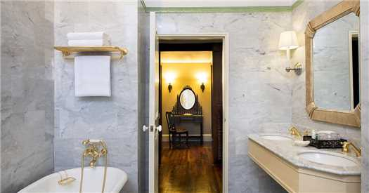 Raffles Hotel Le Royal Badezimmer