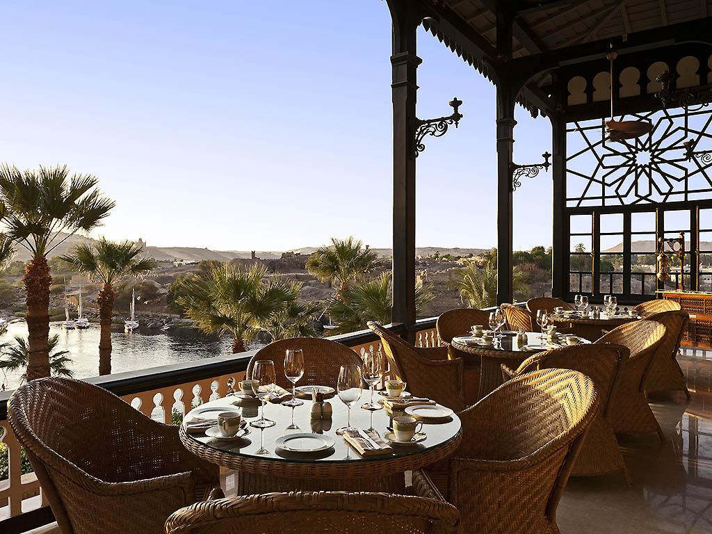 Sofitel Legend Old Cataract Aswan Terrasse