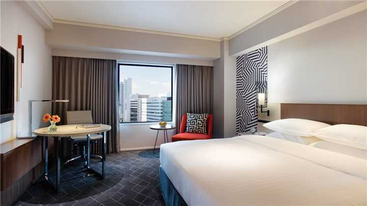 Courtyard Marriott Shin-Osaka Station doppelzimmer