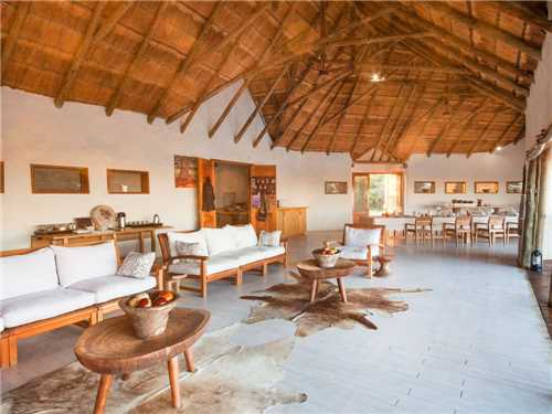 Nxai Pan Camp Restaurant