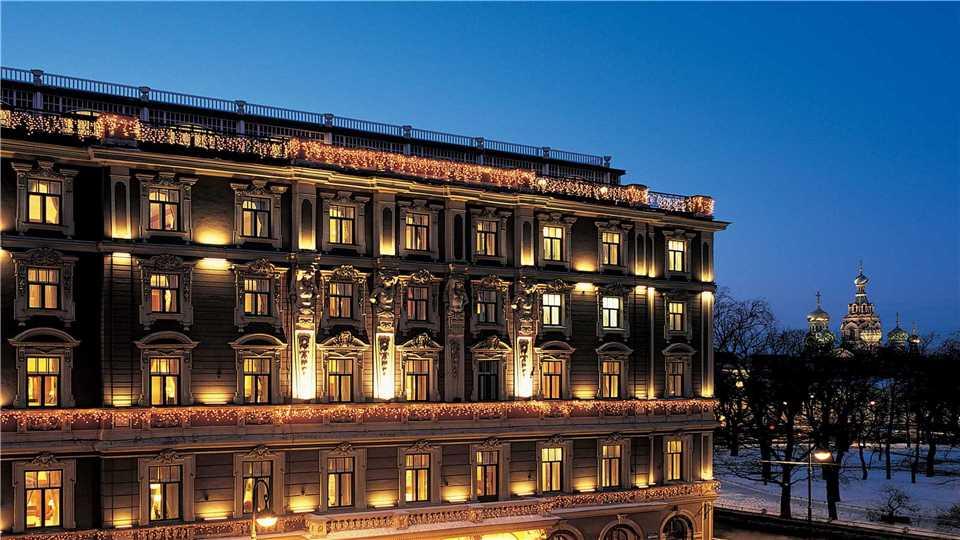 Belmond Grand Hotel Europe Außenansicht