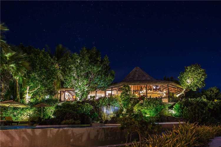 Pacific Resort Aitutaki Nui Außenansicht