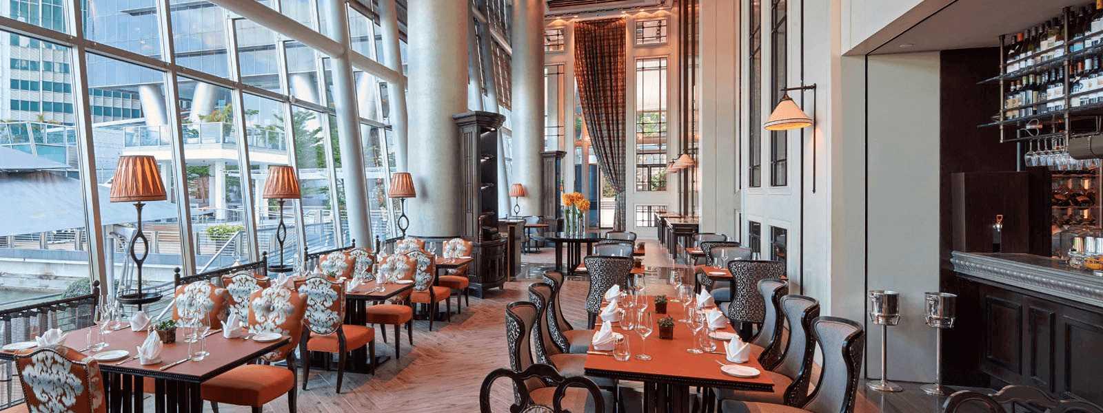 The Fullerton Bay Hotel Restaurant