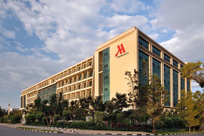 Kigali Marriott Hotel Außenansicht
