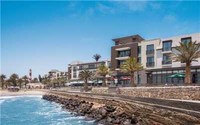 Strand Hotel Hotelansicht