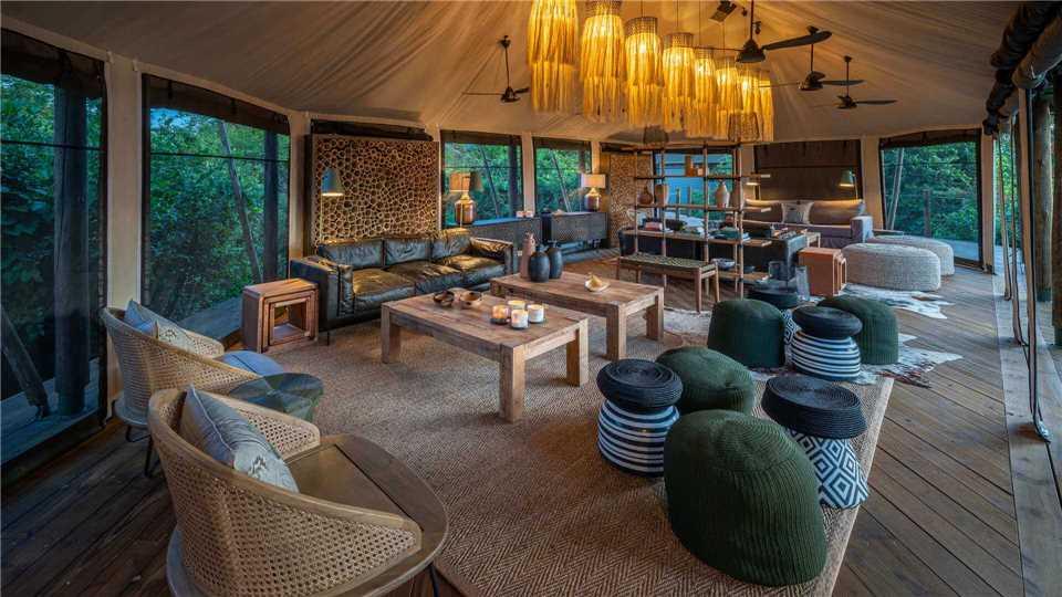 Magashi Camp Lobby